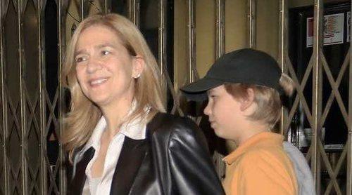 La noche de musical de la Infanta Cristina y sus hijos Miguel e Irene con la Infanta Elena y Victoria Federica