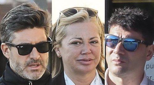 Belén Esteban se reencuentra con Toño Sanchís y Fran Álvarez en los juzgados