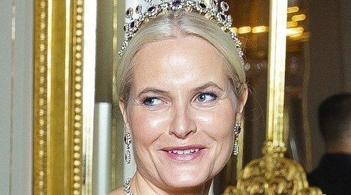 La Princesa Mette-Marit de Noruega reaparece en público tras anunciar su enfermedad