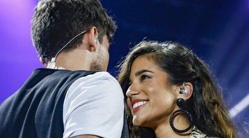 El beso que confirmaría la relación entre Carlos Right y Julia Medina de 'OT 2018'