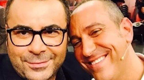 Jorge Javier Vázquez abandona el plató de 'Sálvame' por culpa de un chichón de Víctor Sandoval