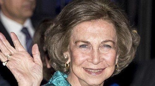Así ha sido el almuerzo familiar de la Reina Sofía por su 80 cumpleaños
