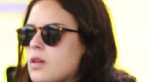 Tallulah Willis, hija de Demi Moore, pillada en topless y fumando... ¿un porro?