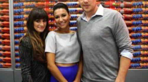 Lea Michele, Cory Monteith y Naya Rivera presentan la cuarta temporada de 'Glee' en la Comic-Con 2012