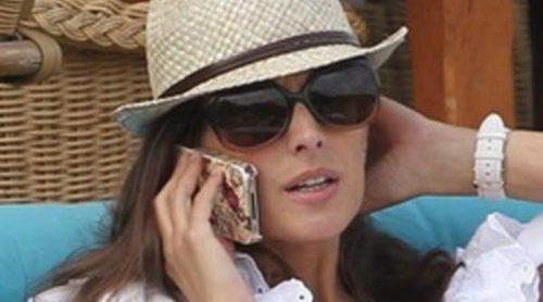 Nuria Fergó disfruta de unas vacaciones en Mallorca sin su hija Martina