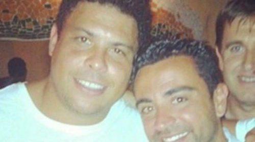 Ronaldo se va de fiesta con Xavi Hernández y Andrea Pirlo en Ibiza