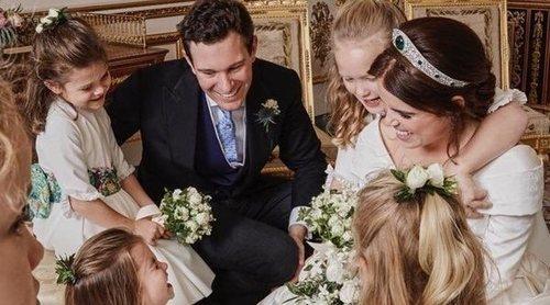 El bonito detalle de la Princesa Eugenia de York y Jack Brooksbank con la gente que les felicitó por su boda