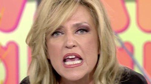 Lydia Lozano estalla contra Kiko Matamoros: '¡Pides respeto en las redes y no lo tienes en directo maleducado!'