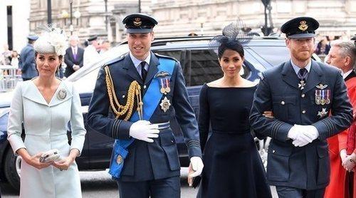 Los intereses de Meghan Markle distancian a los Príncipes Harry y Guillermo de Inglaterra