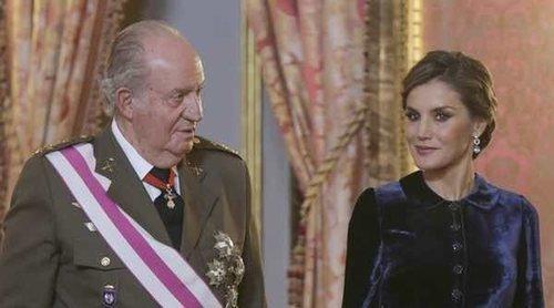 El boicot de la Reina Letizia al Rey Juan Carlos con la foto del 80 cumpleaños de la Reina Sofía