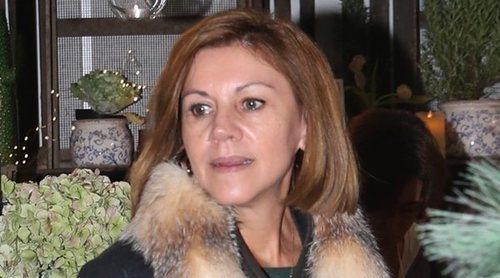María Dolores de Cospedal reaparece en el Rastrillo Nuevo Futuro 2018 tras su dimisión