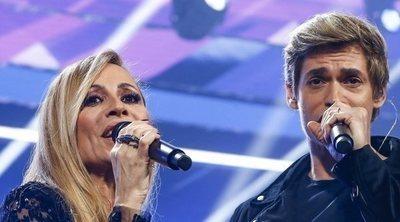 Carlos Baute y Marta Sánchez se lanzan pullitas en mitad de la gala de 'OT'