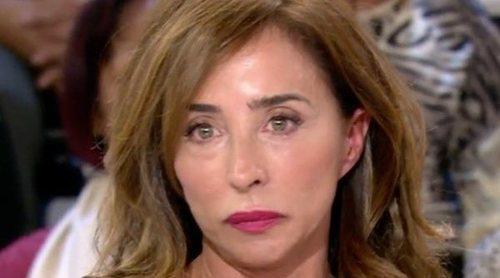 María Patiño no puede contener las lágrimas tras las acusaciones de Mila Ximénez en 'Sálvame'