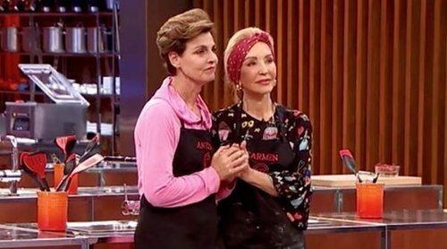 Enemigas Íntimas: Carmen Lomana y Antonia Dell'Atte, la rivalidad entre los fogones de 'MasterChef Celebrity'