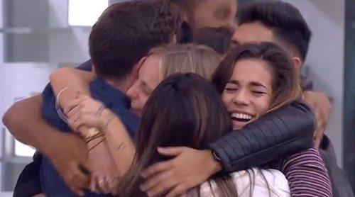 Así ha sido el reencuentro de los concursantes de 'OT 2018': abrazos y 'Somos' en conjunto
