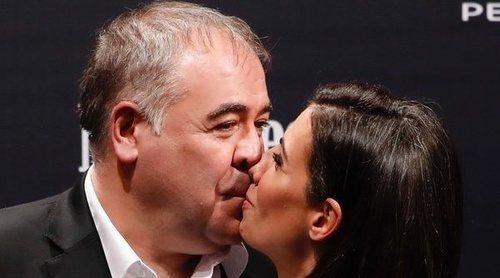 El pasional beso de Ana Pastor y Antonio García Ferreras en los Premios Men's Health