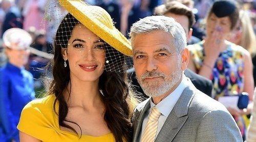 George y Amal Clooney, padrinos del primer hijo del Príncipe Harry y Meghan Markle