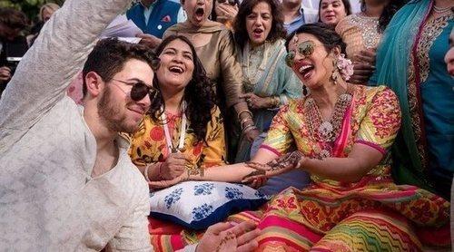 Nick Jonas y Priyanka Chopra finalizan las celebraciones de su boda con la ceremonia india