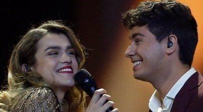 El reencuentro más esperado: Alfred y Amaia coinciden en el concierto de Agoney