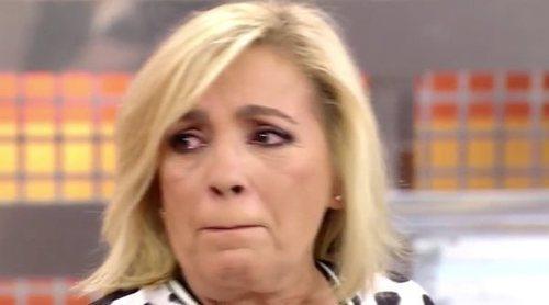 Carmen Borrego se rompe al hablar de la difícil recuperación de Terelu Campos: 'Sé que eres fuerte'