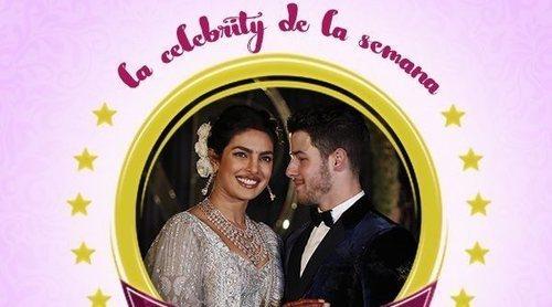 Nick Jonas y Priyanka Chopra, las celebrities de la semana por su extravagante y romántica boda
