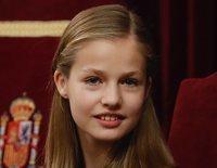 La Princesa Leonor, más Princesa que nunca: sonriente y atenta en el 40 aniversario de la Constitución