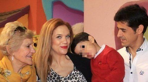 Víctor Janeiro y Beatriz Trapote celebran el cumpleaños de su hijo Víctor poco antes de dar a luz