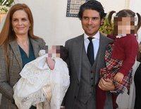 Olivia de Borbón y Julián Porras bautizan a su hijo Fernando Enrique en Marbella