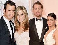 Jennifer Aniston y Justin Theroux... Las rupturas y divorcios internacionales más sonados de 2018