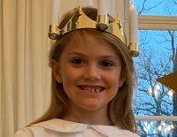 Estela y Oscar de Suecia, más adorables que nunca en la celebración de Santa Lucía