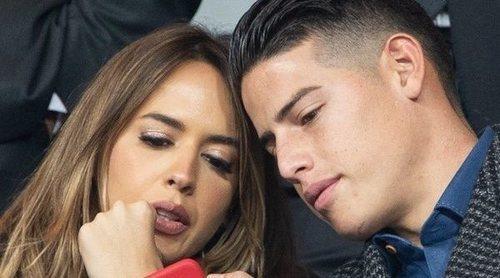 James Rodríguez y Shanon de Lima consolidan su relación en la Copa de Libertadores