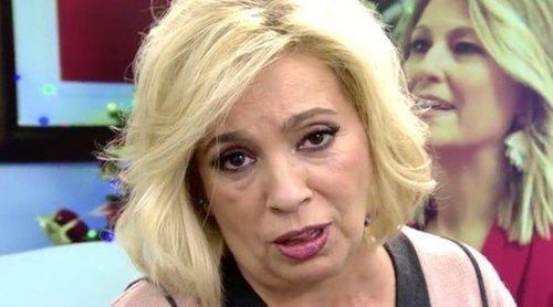 Carmen Borrego se disculpa con Mila Ximénez y asume la culpa de su entrevista: 'Tenía que haberme callado'