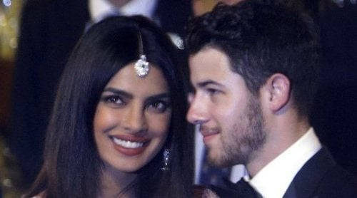 Priyanka Chopra y Nick Jonas asisten a la boda de Isha Ambani, hija del hombre más rico de la India