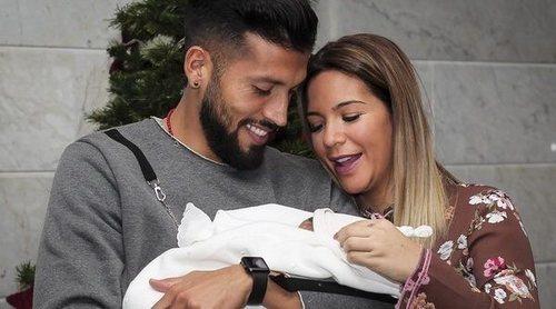 Así han celebrado Tamara Gorro y Ezequiel Garay el primer cumpleaños de su hijo Antonio