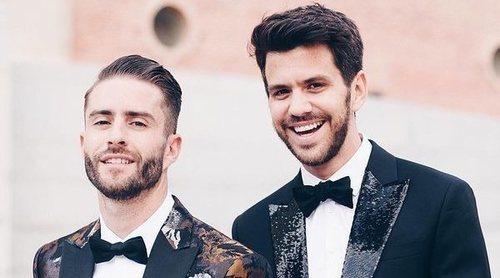 Pelayo Díaz y Andy McDougall, David Bisbal y Rosanna Zanetti y otras bodas españolas de 2018