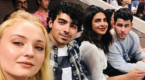La cita doble en Londres de Nick Jonas y Priyanka Chopra con Joe Jonas y Sophie Tuner