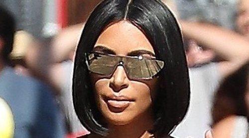 Kim Kardashian presume de su hija Chicago
