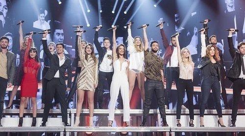 Así ha sido el reencuentro de los concursantes de 'OT 2017' en su concierto de despedida