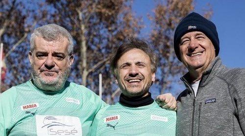 Cayetano Martínez de Irujo, Ortega Cano... Los famosos sacan su lado más solidario en un partido benéfico