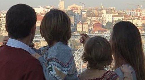 Sara Carbonero celebra en familia que estrena año por cuarta vez en Oporto