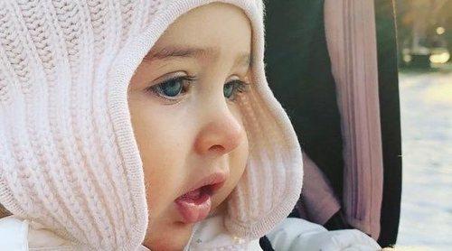 La adorable foto de la Princesa Adrienne con la que ha hecho balance de 2018 su madre Magdalena de Suecia