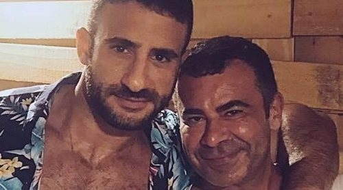 Jorge Javier Vázquez disfruta de sus vacaciones brasileñas al lado de Eliad Cohen