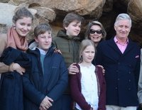 La Familia Real Belga, como unos turistas más en Egipto: así han sido sus vacaciones navideñas