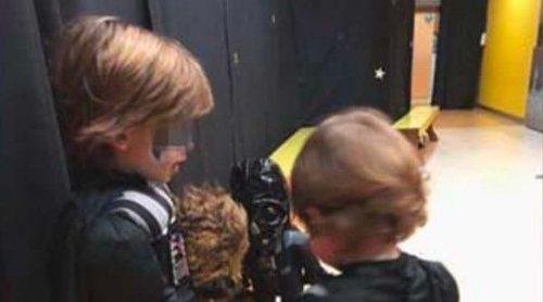La increíble fiesta de Star Wars para celebrar el quinto cumpleaños de Martín Casillas Carbonero