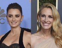 Penélope Cruz, Julia Roberts y Lady Gaga despuntan en la alfombra roja de los Globos de Oro 2019