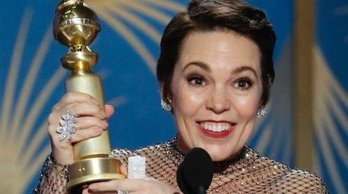 El divertido discurso de Olivia Colman, entre los mejores momentos de los Globos de Oro 2019