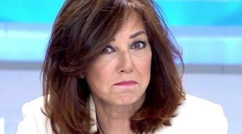 Ana Rosa Quintana responde al insulto de 'feminazi' por parte de VOX: 'Estoy muy contenta'