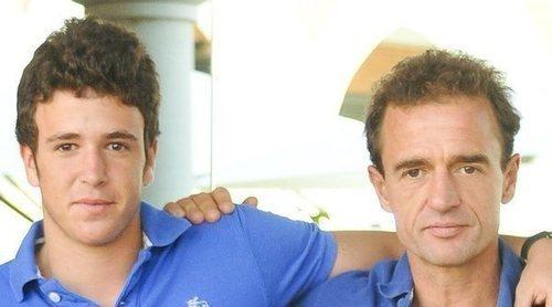 Álex Lequio apoya a su padre Alessandro Lequio en un momento complicado: