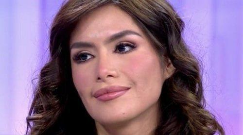 Miriam Saavedra en 'El programa de Ana Rosa': 'Para mí Mónica Hoyos es invisible ahora mismo'