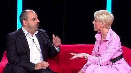 La tensión en el reencuentro de María Jesús Ruiz y Julio Ruz en 'GH Dúo'